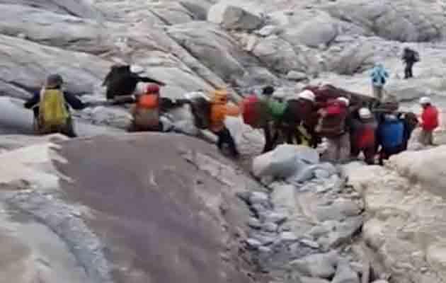 Encuentran los cuerpos de tres españoles y un peruano muertos en una avalancha en Perú