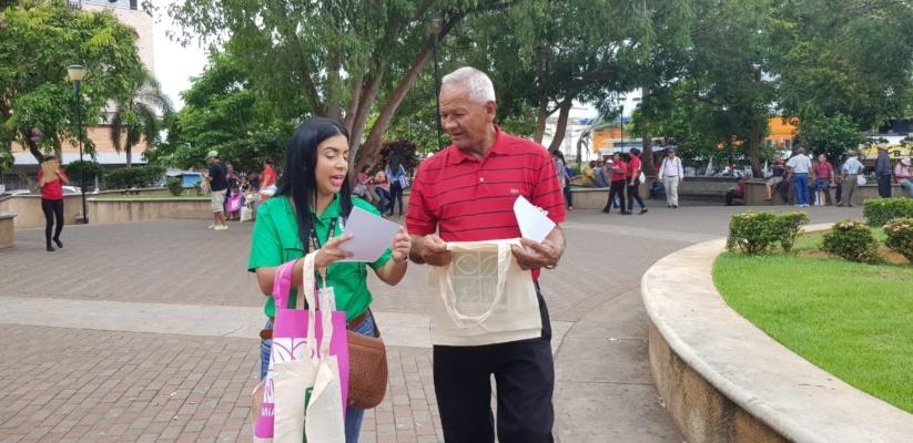 Jornadas para concientizar a la población chiricana sobre el no uso de bolsas plásticas