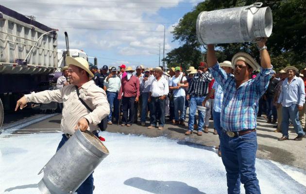 Productores irán a las calles simultáneamente en La Chorrera, Divisa, Chiriquí y Azuero