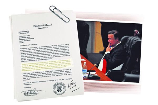 Quinta papeleta,  solo si la Asamblea expide ley