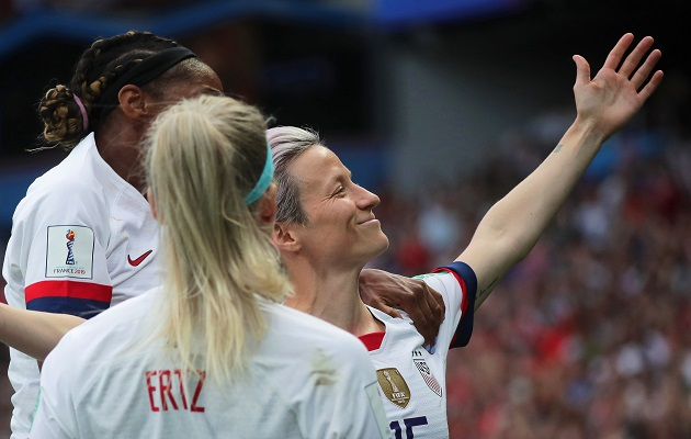 Megan Rapinoe: 'No se puede ganar un torneo sin gays en tu equipo'