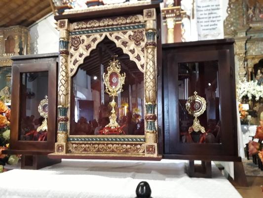 Llegan a Parita reliquias de tres importantes santos