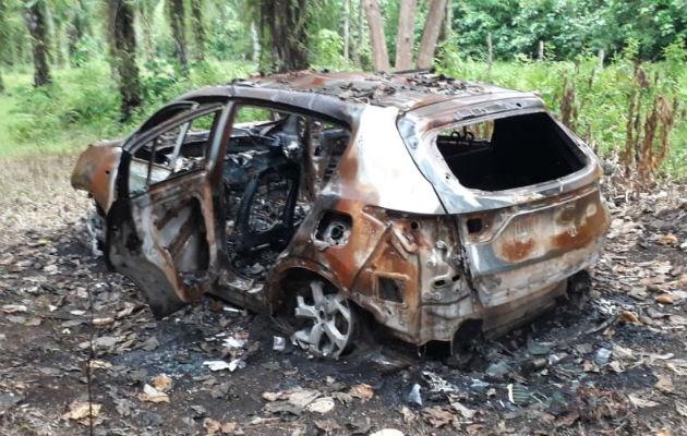Hallan restos óseos en auto con placa panameña en Paso Canoas de Costa Rica
