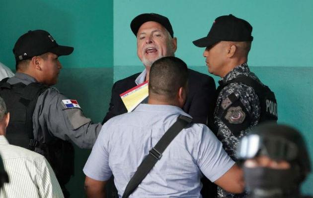Expresidente Ricardo Martinelli tendrá un médico en cada una de las audiencias; aún tiene la presión alta
