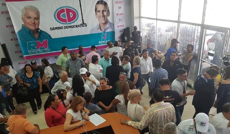 Cambio Democrático celebra cumpleaños de Ricardo Martinelli