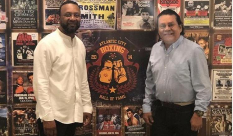 Roberto Durán se robó el show durante un homenaje en Atlantic City