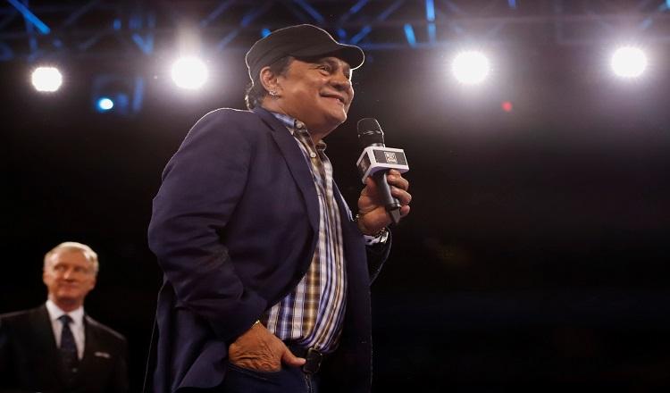 Roberto Durán es homenajeado en Puerto Rico