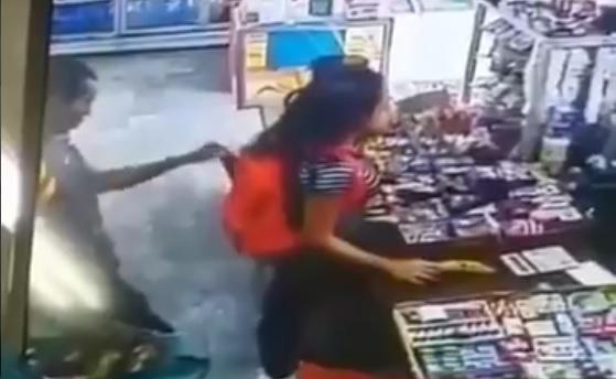 El robo fue en un local comercial en El Cangrejo.