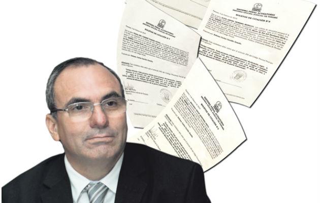 Ministerio Público admite una querella penal contra Rolando López