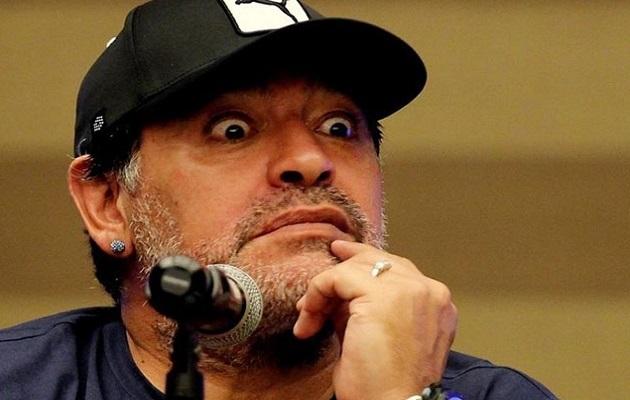 Diego Maradona, hospitalizado por sangrado estomacal