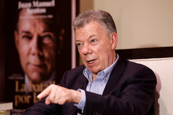 Juan Manuel Santos asegura que las FARC no existen y la facción es una banda criminales