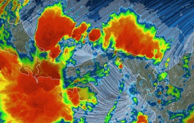 Sinaproc advierte sobre lluvias hasta el jueves en zona occidental del país