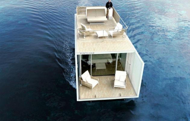 Una 'suite' de lujo sobre el agua