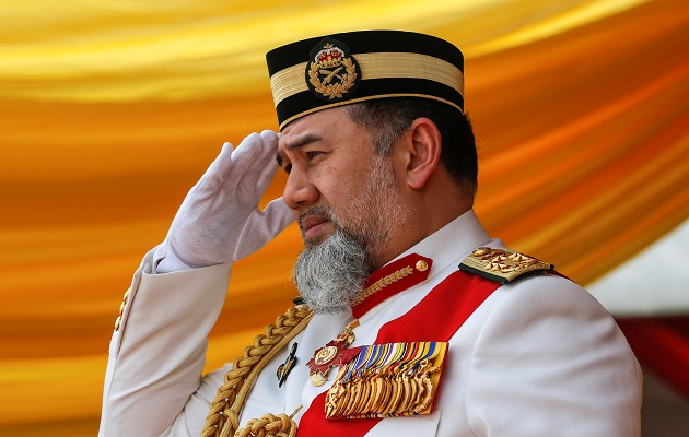 El sultán Muhammad V renuncia tras dos años al trono rotatorio de Malasia