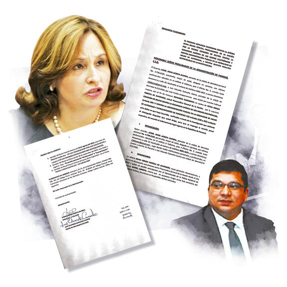 Denuncian a Kenia Porcell y Daniel Arroyo por compra del Metabuscador