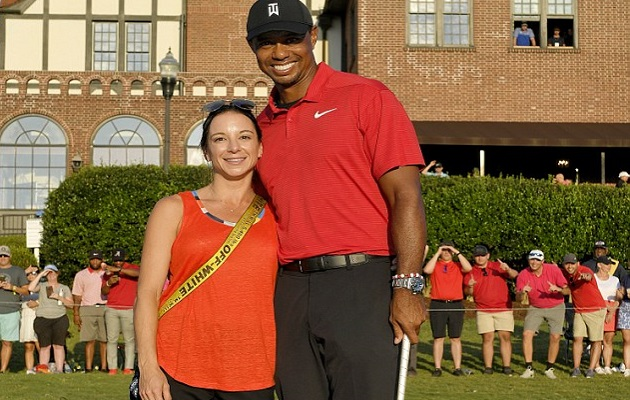 Novia de Tiger Woods, con historial crediticio de terror
