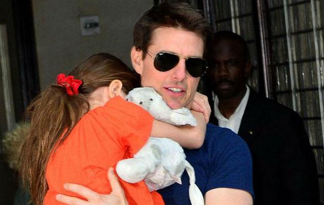 Tom Cruise y Suri. Foto: Web