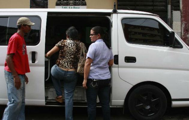 Transporte 'pirata' propone convertirse en alimentadores del Metro de Panamá y Metrobús