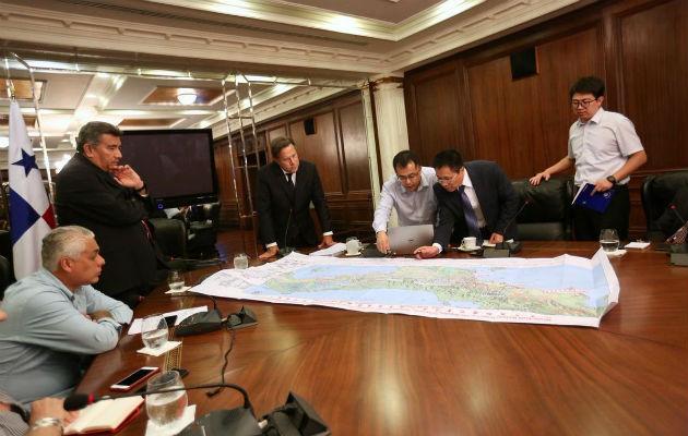 Gobierno de China entregará pronto estudio de factibilidad del tren Panamá-David