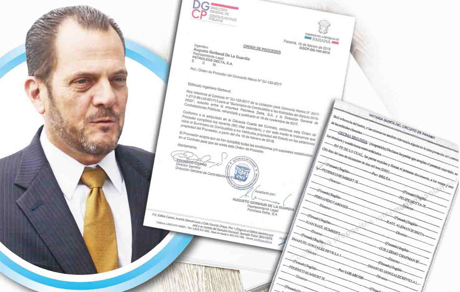 Juan Carlos Varela dejó renovado contrato millonario con Delta