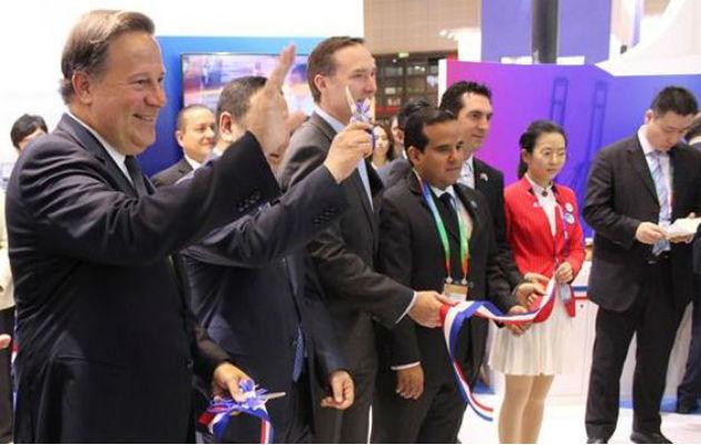 Juan Carlos Varela defiende presencia de empresa familiar en exposición en China