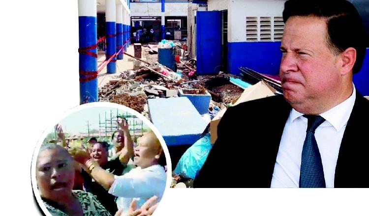 Presidente Juan Carlos Varela no reconoce la existencia de una crisis educativa