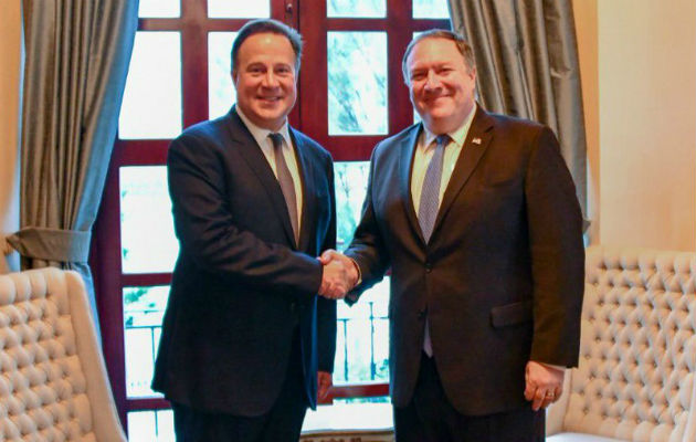 Varela se vio obligado a reconocer que habló con Mike Pompeo sobre China