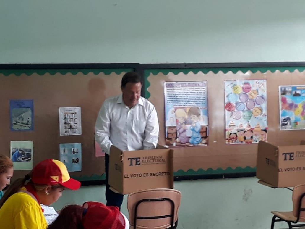 El presidente Juan Carlos Varela asegura que no ingresará al Parlacen