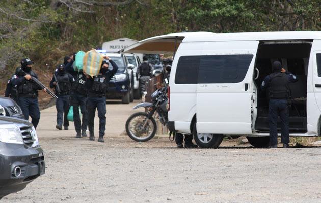 Importante decomiso de droga en Veracruz y en el área de la frontera tico-panameña