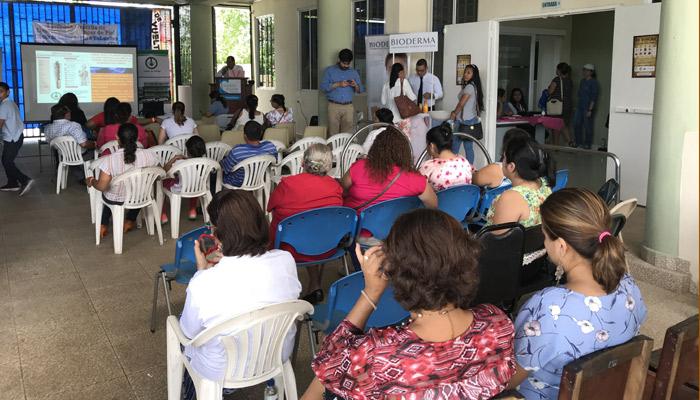 Realizan jornada gratuita de detección de cáncer de piel en Veraguas