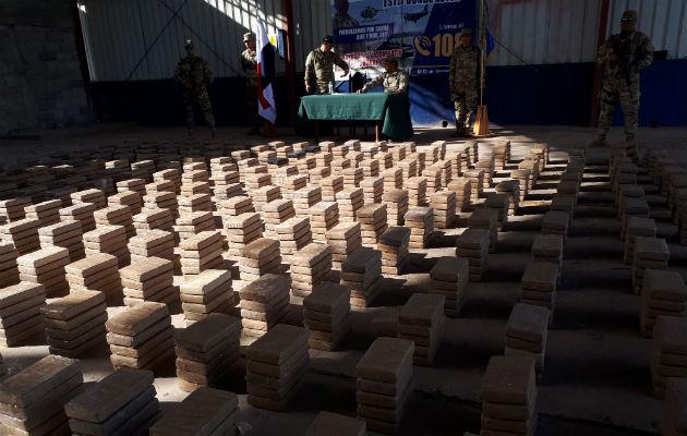 Incautan 1,295 paquetes de droga durante persecución en Veraguas
