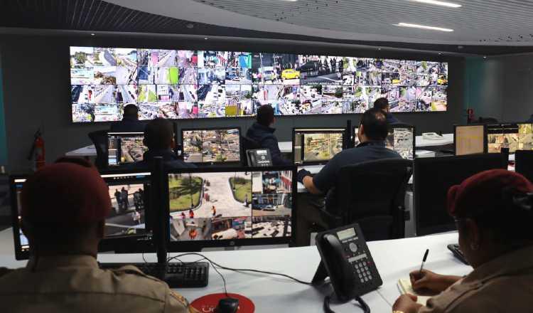 Captan más de 70 mil casos en videovigilancia de la Alcaldía de Panamá