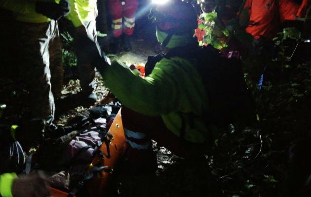 Rescatan a cuatro panameños con lesiones en la cima del volcán Barú