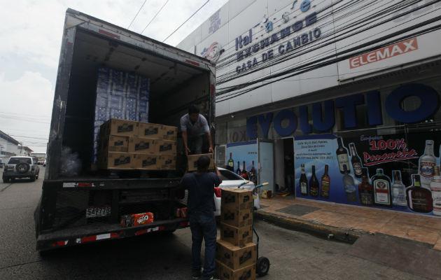 Marcadas bajas se registran en el comercio al exterior y mercado interno
