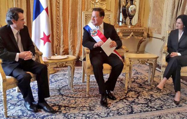 Nuevo embajador de España en Panamá presenta cartas credenciales