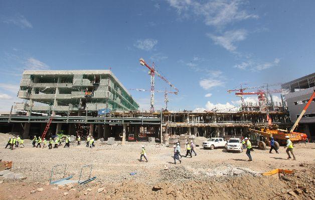 La producción del concreto premezclado cae un 20.9%