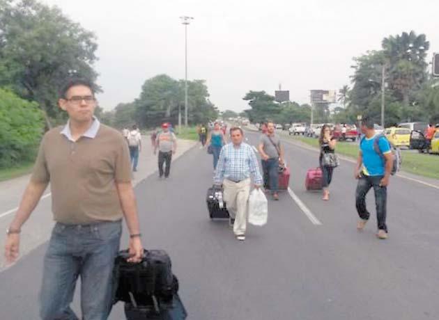 Vuelos en el aeropuerto de Tocumen se vieron afectados por cierre