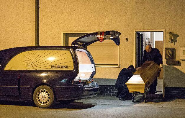 Horror en apartamento en el sur de Alemania