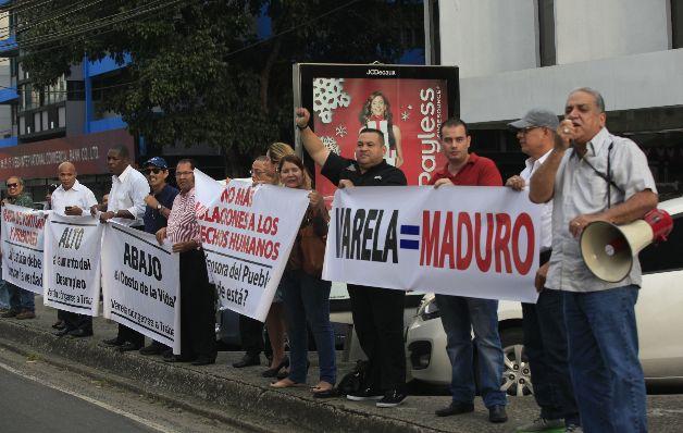 Piden cese de persecución contra opositores al Gobierno