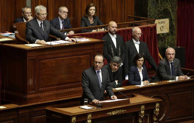 Francia busca destruir a EI con tropas de EE.UU. y Rusia