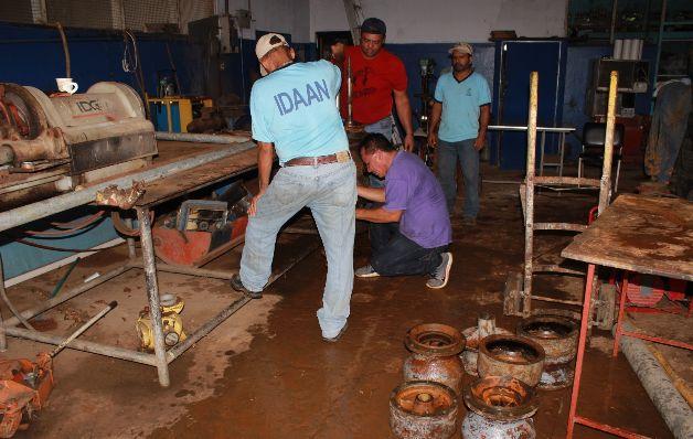 20 barriadas se quedan sin agua en Soná