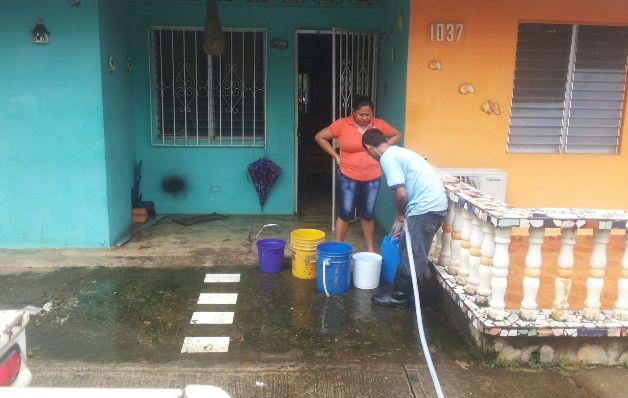 Restablecen el servicio de agua potable en Soná