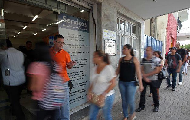 Brasil registra un mayor nivel de desempleo