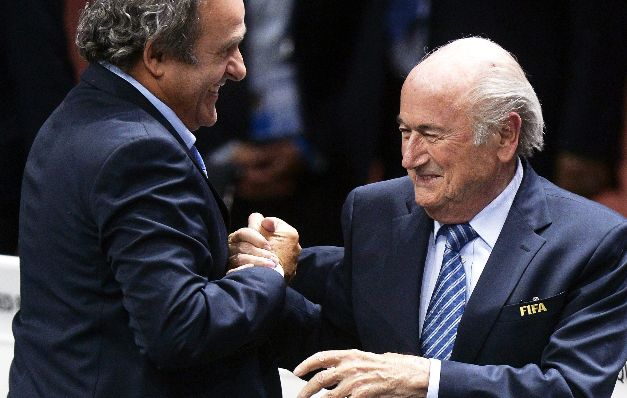Joseph Blatter estuvo entre ángeles y demonios