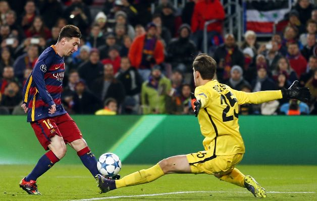 Messi goza del momento que vive el Barcelona