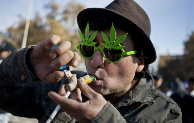 Miles de chilenos piden la despenalización de la marihuana