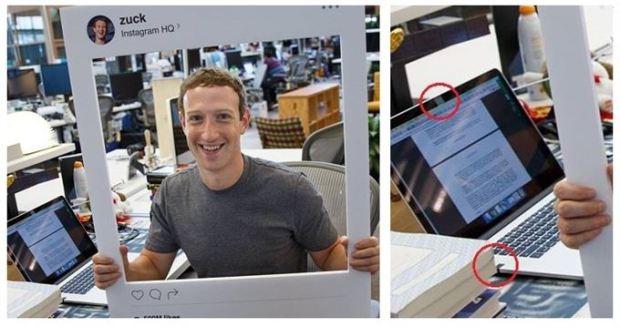 Resultado de imagen para mark zuckerberg cinta adhesiva