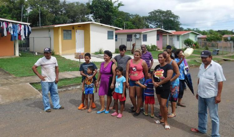 BHN intenta    desalojar a tres familias  en Altos de La Peña