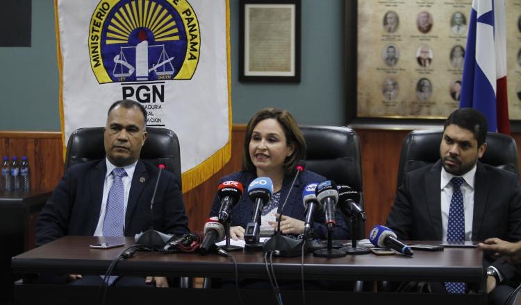 La procuradora Kenia Porcell no ha ampliado detalles sobre los implicados en la gestión Varela. /Foto Edward Santos