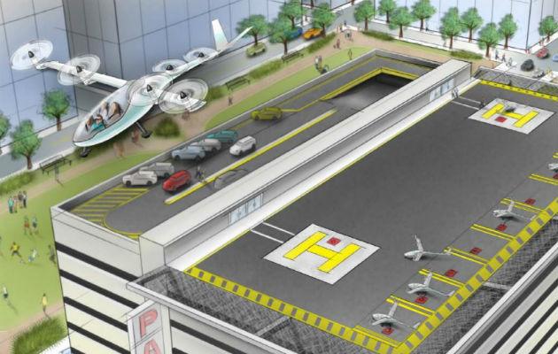 Como los Supersónicos, Uber le apuesta al transporte aéreo